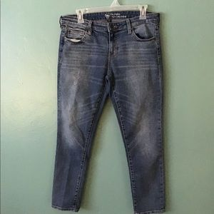 GAP Coupe Girlfriend jeans. Size 8.